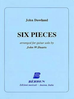 John Dowland - 6 Pieces - Sheet Music - di-arezzo.com