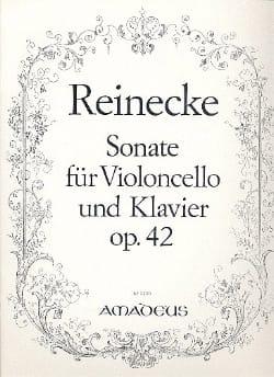Carl Reinecke - Sonate für Violoncello und Klavier op. 42 - Partition - di-arezzo.fr