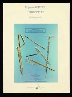 L'hirondelle - Flûte solo Eugénie Kuffler Partition laflutedepan