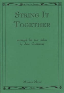 Jane Gannaway - String it Together - Partition - di-arezzo.fr
