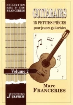 Guitarairs Vol 2 - Marc Franceries - Partition - laflutedepan.com