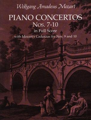 Piano Concertos N°7-10 - Full Score MOZART Partition laflutedepan