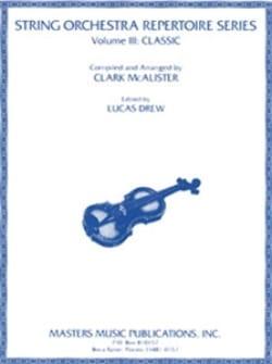 Alister Clark Mac - String Orchestra Repertoire Series, Volume 3 - Classic - Sheet Music - di-arezzo.co.uk