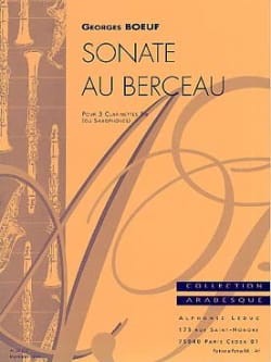 Georges Boeuf - Sonata in the cradle - Sheet Music - di-arezzo.co.uk