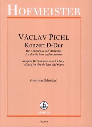 Konzert D-Dur - Kontrabass Vaclav Pichl Partition laflutedepan
