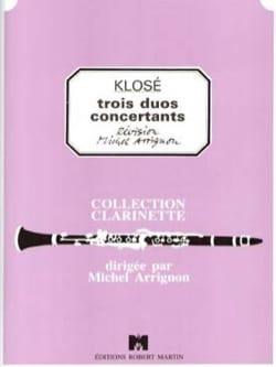 3 Duos concertants - Hyacinthe Klosé - Partition - laflutedepan.com
