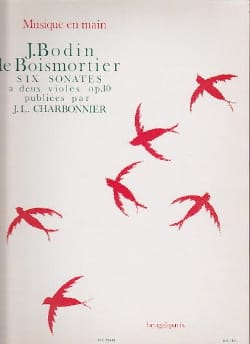 BOISMORTIER - 6 Sonatas with 2 viol op10 - Sheet Music - di-arezzo.co.uk