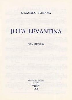 Jota levantina - Federico Moreno-Torroba - laflutedepan.com