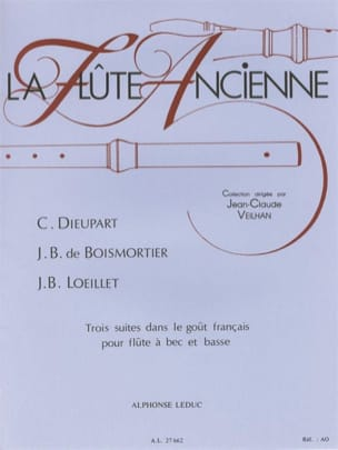 Dieupart Charles F. / Boismortier Joseph Bodin De / Loeillet J. B. de - 3 Suites in the French taste for recorder and bass - Sheet Music - di-arezzo.com