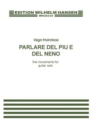 Parlare del piu e del meno - Vagn Holmboe - laflutedepan.com