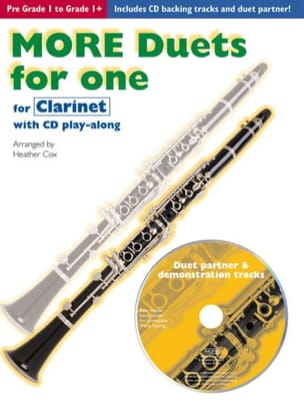 Heather Cox - More Duets for one – Clarinet - Partition - di-arezzo.fr