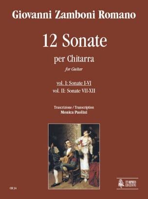 12 Sonate per Chitarra - Vol 1 n° 1-6 - laflutedepan.com