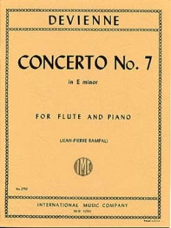 François Devienne - Concerto No. 7 E Minor - Piano Flute - Sheet Music - di-arezzo.com