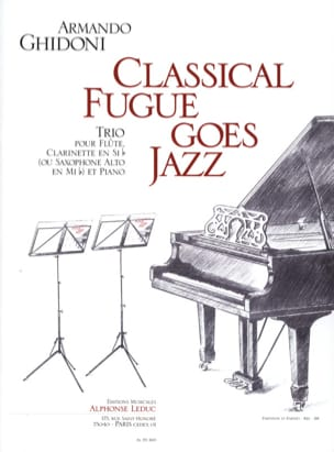 Classical Fugue Goes Jazz - Armando Ghidoni - laflutedepan.com