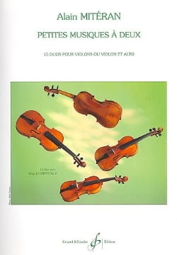 Alain Mitéran - Small music for two - Sheet Music - di-arezzo.com