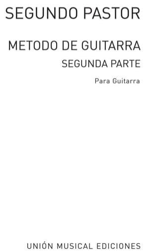 Segundo Pastor - Metodo of guitarra - Parte 2 - Sheet Music - di-arezzo.co.uk