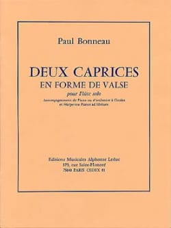 Paul Bonneau - Deux caprices en forme de valse - Partition - di-arezzo.fr