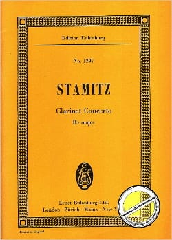 Johann Stamitz - Klarinetten-Konzert B-Dur - Sheet Music - di-arezzo.co.uk
