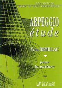 Yvon Demillac - Arpeggio étude - Partition - di-arezzo.fr