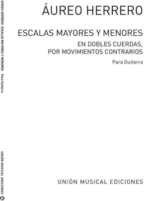 Aureo Herrero - Escalas mayores and menores - Sheet Music - di-arezzo.com