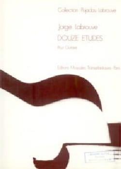 12 Etudes Jorge Labrouve Partition Guitare - laflutedepan