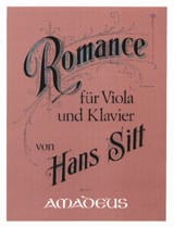 Hans Sitt - Romance Opus 72 - Partition - di-arezzo.co.uk