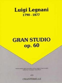 Luigi Legnani - Gran Studio op. 60 - Partition - di-arezzo.fr