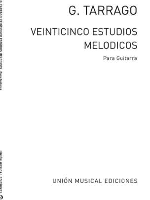 G. Tarrago - Veinticinco Estudios Melodicos - Partition - di-arezzo.fr