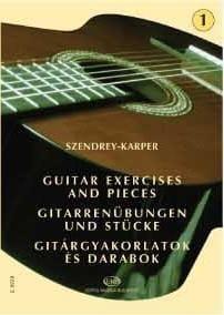 Laszlo Szendrey-Karper - Gitarrenübungen - Band 1 - Noten - di-arezzo.de