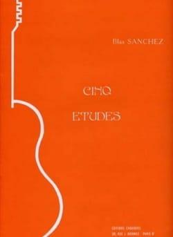 Blas Sanchez - 5 Etudes - Partition - di-arezzo.fr
