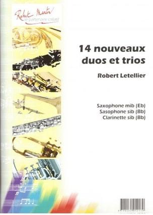 Robert Letellier - 14 Nouveaux duos et trios - Partition - di-arezzo.fr