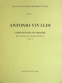 Antonio Vivaldi - Concerto en do min. - F. 3 n° 1 – Partitura - Partition - di-arezzo.fr