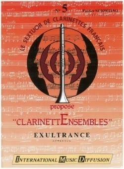 Exultrance Patrice Sciortino Partition Clarinette - laflutedepan