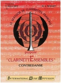 Wolfgang Amadeus Mozart - Contredanse – Clarinettes - Partition - di-arezzo.fr