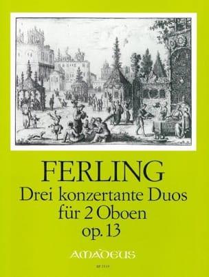 Franz Wilhelm Ferling - 3 Konzertante Duos op. 13 - Oboen - Sheet Music - di-arezzo.co.uk