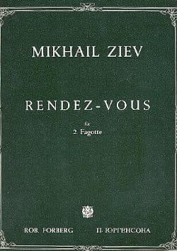 Rendez-vous - Mikhail Ziev - Partition - Basson - laflutedepan.com