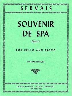 Adrien-François Servais - Souvenir de Spa - Partition - di-arezzo.fr