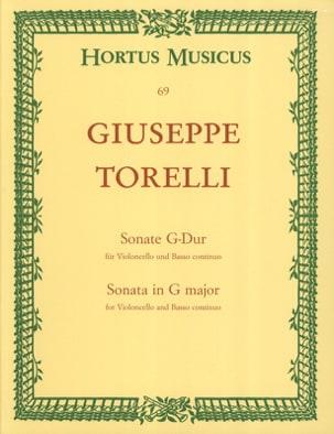 Giuseppe Torelli - Sonate in G-Dur - Noten - di-arezzo.de