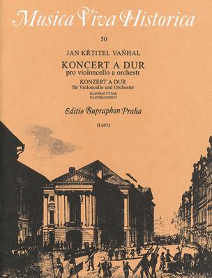 Konzert A-Dur - Violoncello - Johann Baptist Vanhal - laflutedepan.com