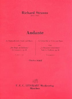 Richard Strauss - Andante - Partition - di-arezzo.fr