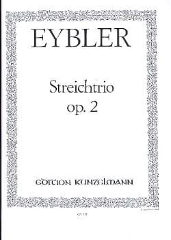 Streichtrio op. 2 –Stimmen - Joseph Eybler - laflutedepan.com