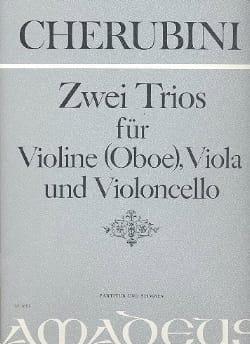 2 Trios -Partitur + Stimmen - Luigi Cherubini - laflutedepan.com