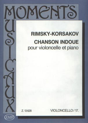 Nicolaï Rimsky-Korsakov - Chanson indoue - Partition - di-arezzo.fr