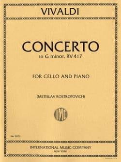 VIVALDI - Concerto en sol mineur - F. 3 n° 15 - Partition - di-arezzo.fr