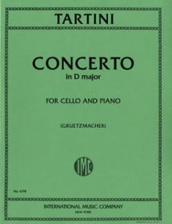 Concerto en ré majeur - TARTINI - Partition - laflutedepan.com
