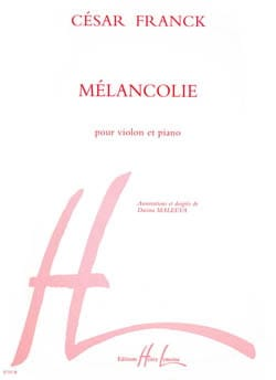 César Franck - Melancholy - Sheet Music - di-arezzo.co.uk