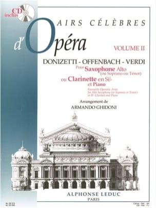 Airs Célèbres D'opéra Vol.2 - laflutedepan.com