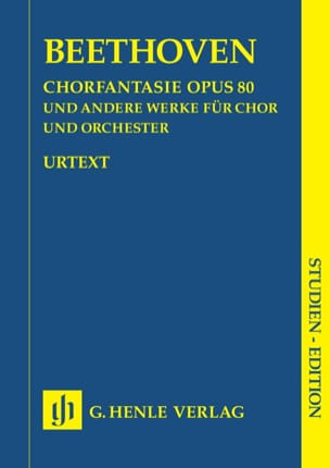 BEETHOVEN - Fantasy for chorus C minor op. 80 and other works - Sheet Music - di-arezzo.co.uk