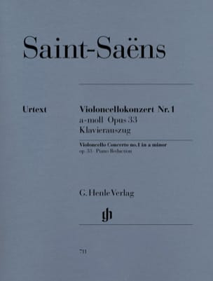 Camille Saint-Saëns - Cello Concerto No. 1 op. 33 - Sheet Music - di-arezzo.com