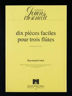 Raymond Guiot - 10 easy pieces for 3 flutes - Sheet Music - di-arezzo.com